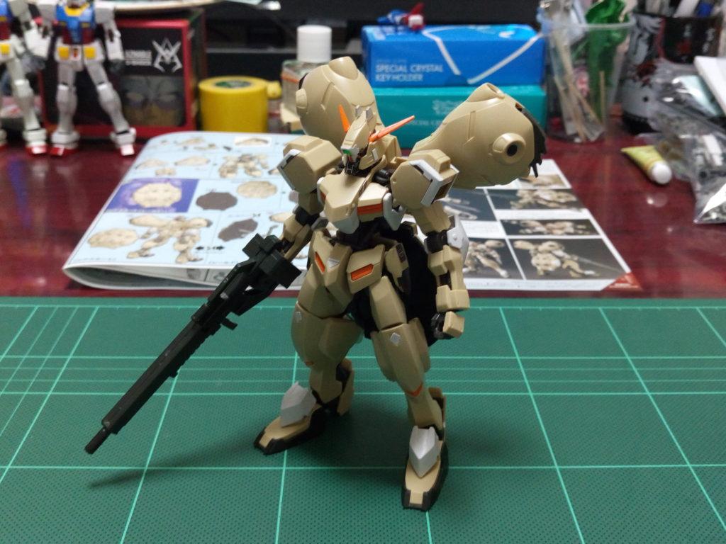 HG 1/144 ガンダムグシオンリベイク [GUNDAM GUSION REBAKE] 正面