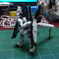 HGUC 1/144 RX-0 フルアーマー・ユニコーンガンダム(ユニコーンモード)