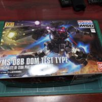 HG 1/144 ドム試作実験機 [DOM TEST TYPE](THE ORIGIN)