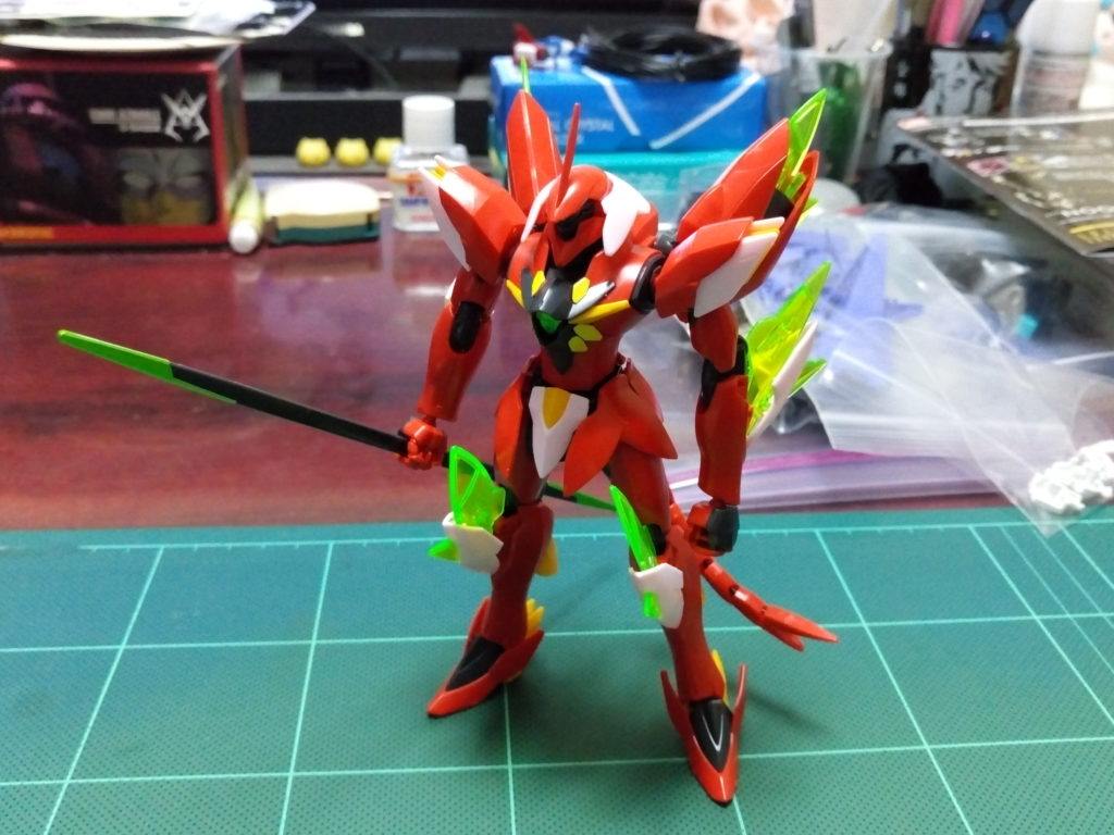 HG 1/144 xvt-zgc ギラーガ 正面
