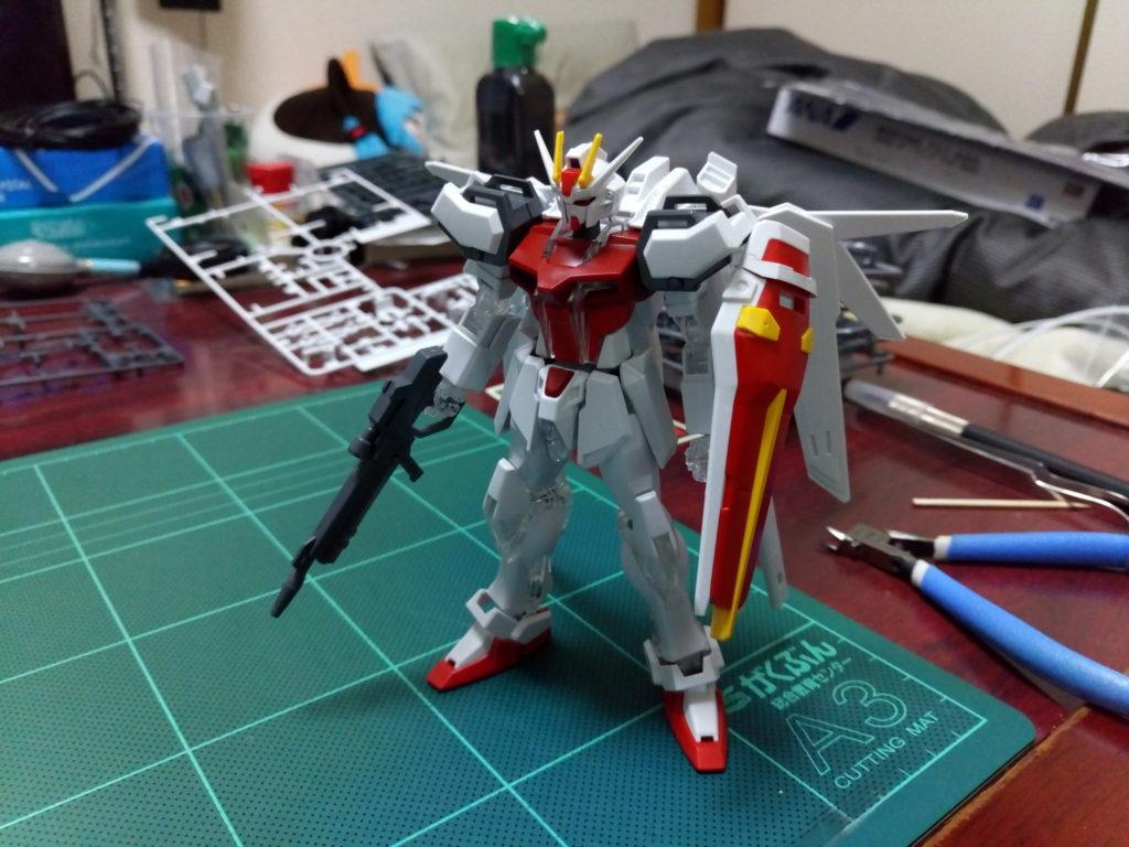 HGCE 1/144 ストライクガンダム 電撃ホビージャパン SPECIAL 正面