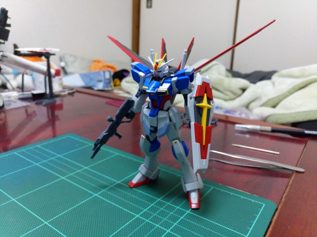 HGCE REVIVE 1/144 フォースインパルスガンダム 正面