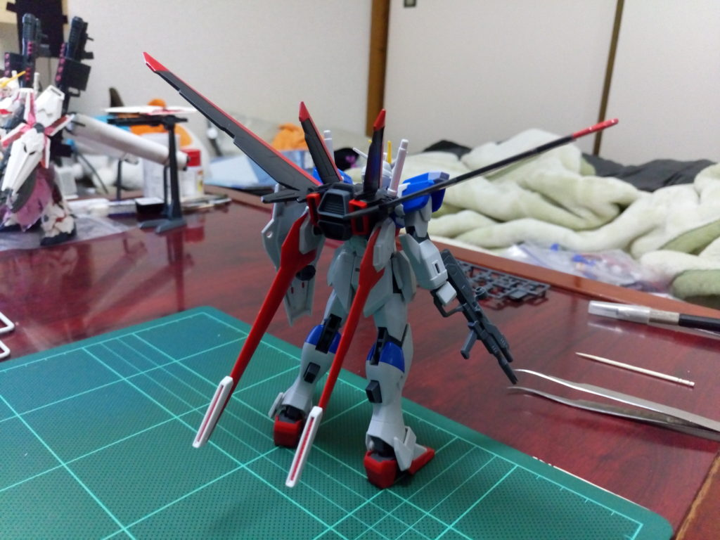 HGCE REVIVE 1/144 フォースインパルスガンダム 背面
