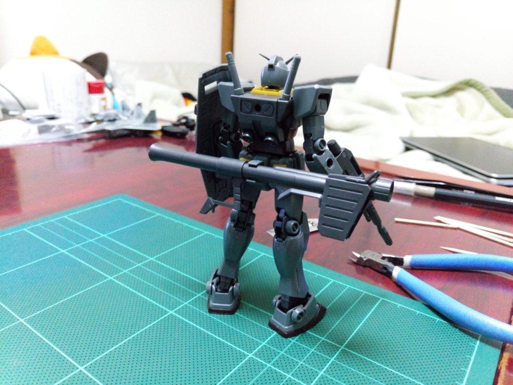 HGUC 1/144 ガンダム(21stCENTURY REALTYPE Ver.) 背面