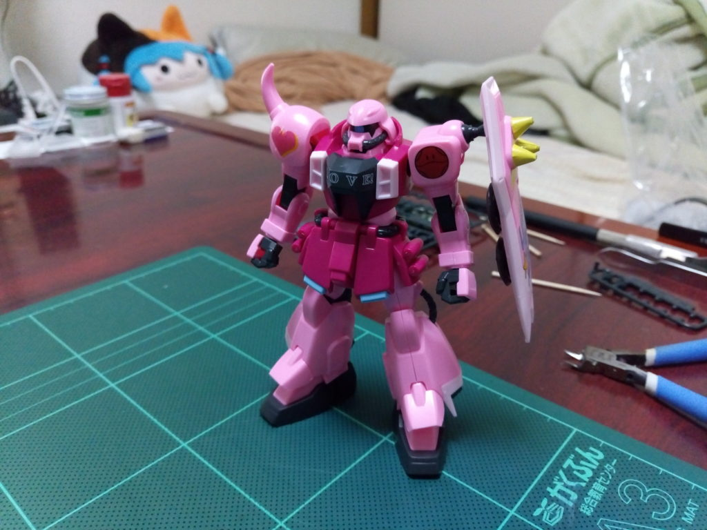 HG 1/144 ZGMF-1000 ザクウォーリア(ライブ・コンサートver.) 正面