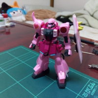 HG 1/144 ZGMF-1000 ザクウォーリア(ライブ・コンサートver.)