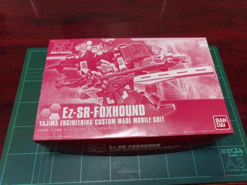 HGBF 1/144 YZ-R28-SR[FH] Ez-SRフォックスハウンド [Ez-SE-FOXHOUND]