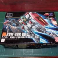 HGUC 1/144 RGM-86R ジムIII パッケージ