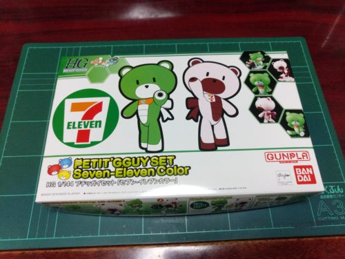 HGPG 1/144 プチッガイセット「セブン・イレブンカラー」[PETIT'GGUY SET Seven-Eleven Color]