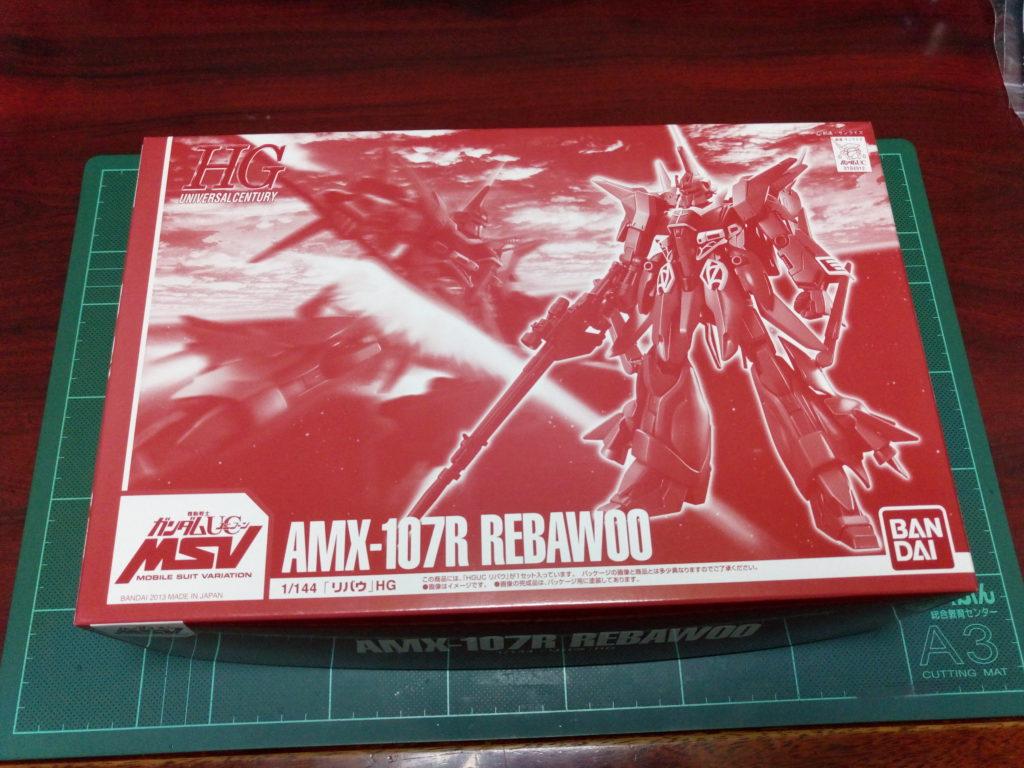 HGUC 1/144 AMX-107R リバウ [REBAWOO] パッケージ