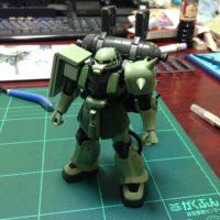 HG 1/144 MS-06 量産型ザク+ビッグ・ガン(ガンダム サンダーボルト版)