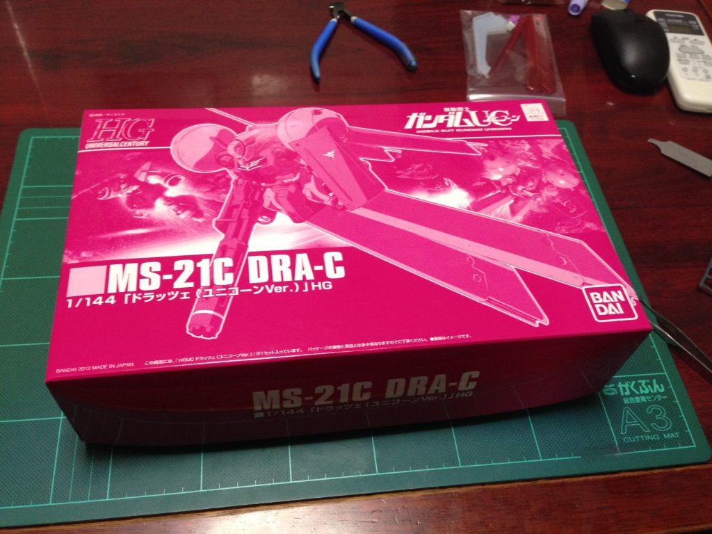 HGUC 1/144 MS-21C ドラッツェ(ユニコーンVer.) パッケージ
