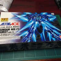 HG 1/144 AGE-FX ガンダムAGE-FX バースト パッケージ