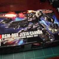 HGUC 1/144 RGM-96X ジェスタ・キャノン