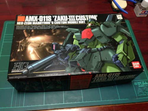 HGUC 1/144 AMX-011S ザクIII改
