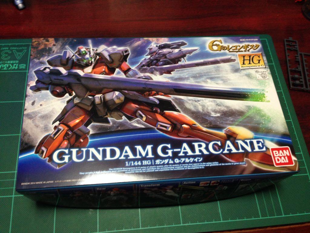 HG 1/144 ガンダム G-アルケイン パッケージ
