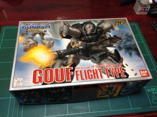 HG 1/144 MS-07H8 グフフライトタイプ [GOUF FLIGHT TYPE]