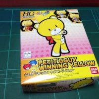 HGPG 1/144 プチッガイ ウイニングイエロー パッケージ