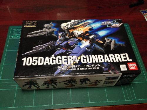 HG 1/144 GAT-01A1 105ダガー+ガンバレル [105DAGGER + GUNBARREL]
