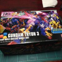 HGBF 1/144 ガンダムトライオン3 [GUNDAM TRYON 3] パッケージ