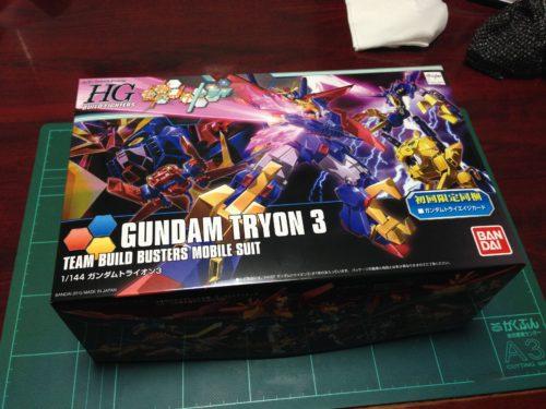 HGBF 1/144 ガンダムトライオン3 [GUNDAM TRYON 3]