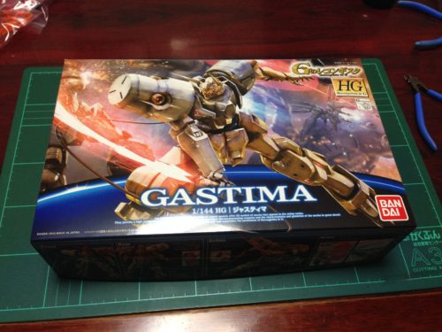 HG 1/144 ジャスティマ [GASTIMA]