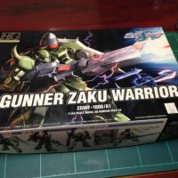 HG 1/144 ZGMF-1000/A1 ガナーザクウォーリア [GUNNER ZAKU WARRIOR]