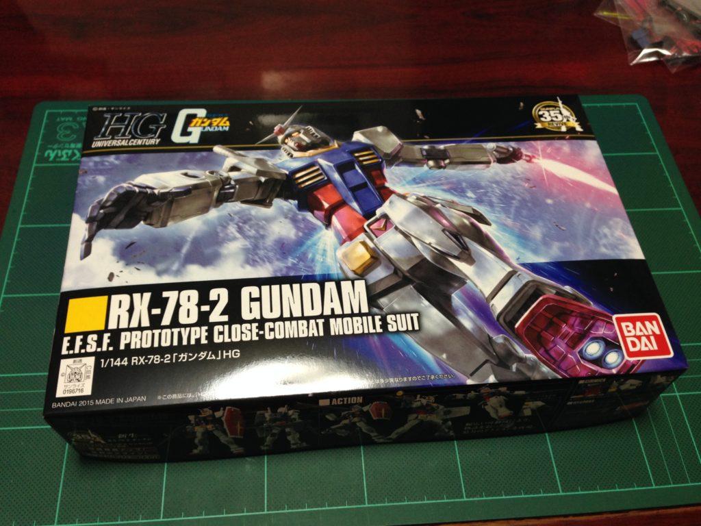 HGUC REVIVE 1/144 RX-78-2 ガンダム [GUNDAM] パッケージ