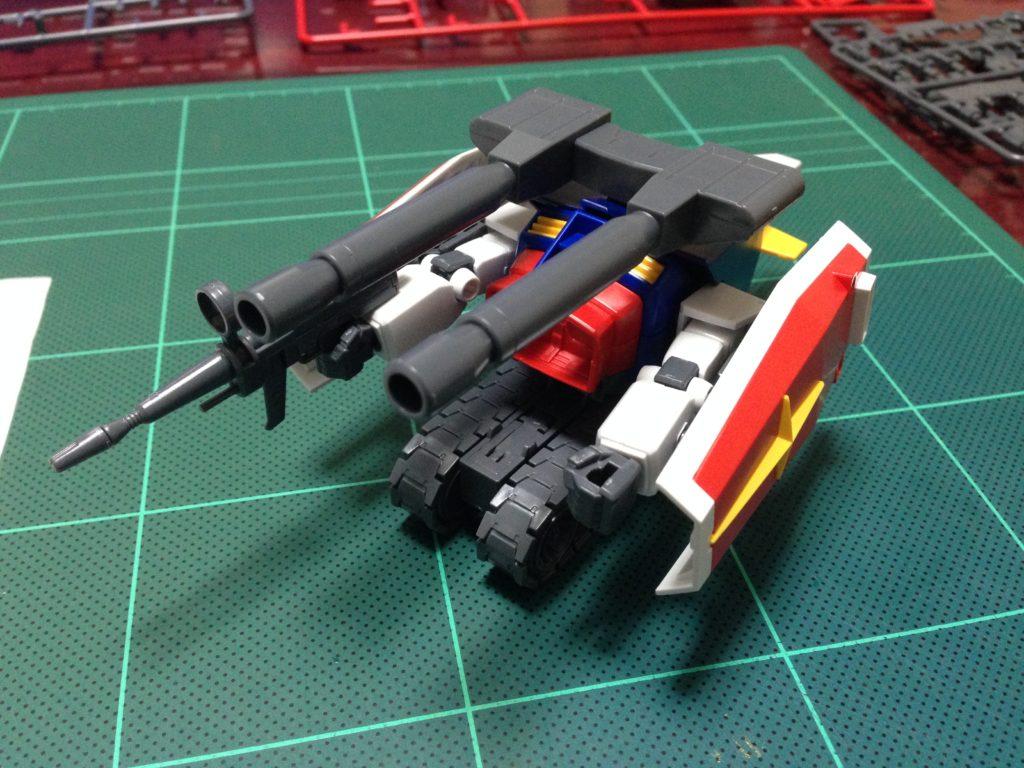 HGUC 1/144 Gアーマー(Gファイター+RX-78-2 ガンダム) [G-ARMOR 'G-FIGHTER+RX-78-2 GUNDAM'] 正面