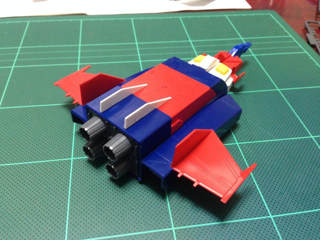 HGUC 1/144 Gアーマー(Gファイター+RX-78-2 ガンダム) [G-ARMOR 'G-FIGHTER+RX-78-2 GUNDAM'] 背面