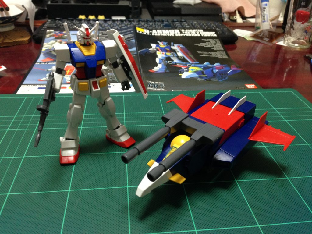 HGUC 1/144 Gアーマー(Gファイター+RX-78-2 ガンダム) [G-ARMOR 'G-FIGHTER+RX-78-2 GUNDAM']