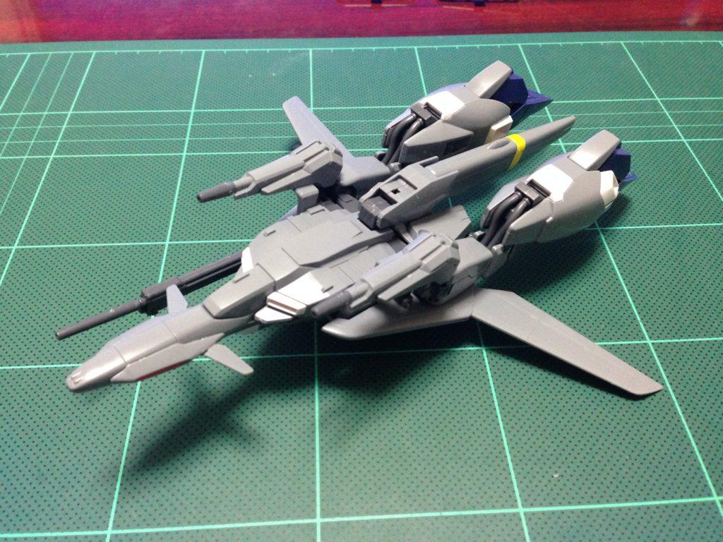 HGUC 1/144 MSZ-006A1 ゼータプラス(ユニコーンVer.) 正面