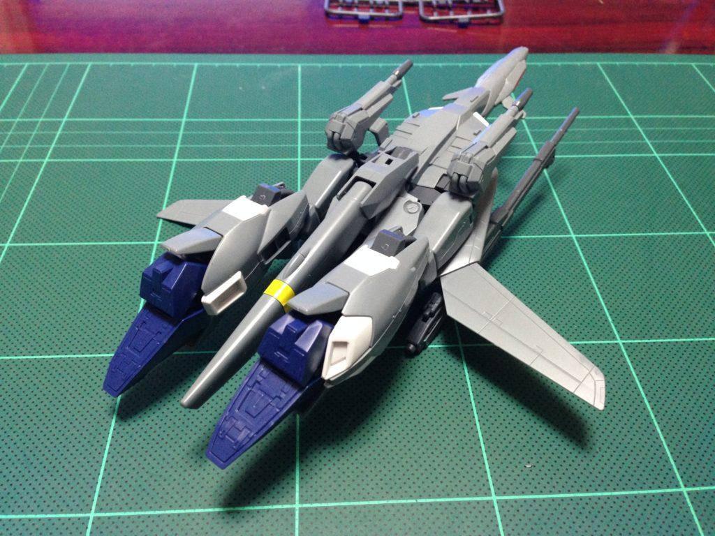 HGUC 1/144 MSZ-006A1 ゼータプラス(ユニコーンVer.) 背面