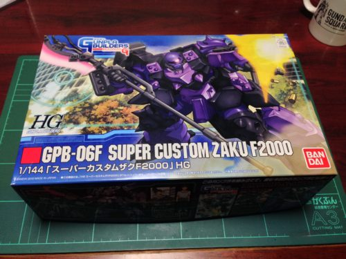 HG 1/144 GPB-06F スーパーカスタムザクF2000