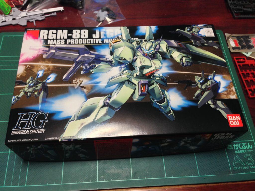 HGUC 1/144 RGM-89 ジェガン パッケージ