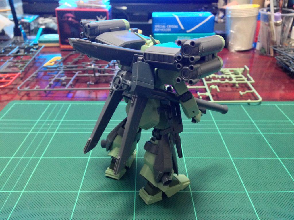 HGUC 1/144 スターク・ジェガン(CCA-MSV Ver.) 背面