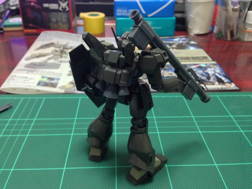 HGUC 1/144 RGM-89De ジェガン(エコーズ仕様) 背面