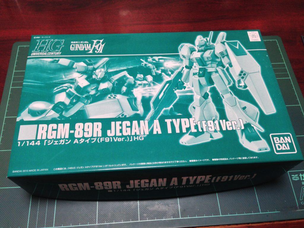 HGUC 1/144 ジェガン・Aタイプ(F91Ver.) パッケージ