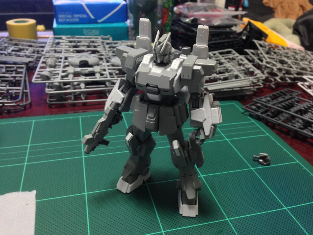 HGBF 1/144 RX-79[G]Ez-SR1 ガンダムEz-SR 正面