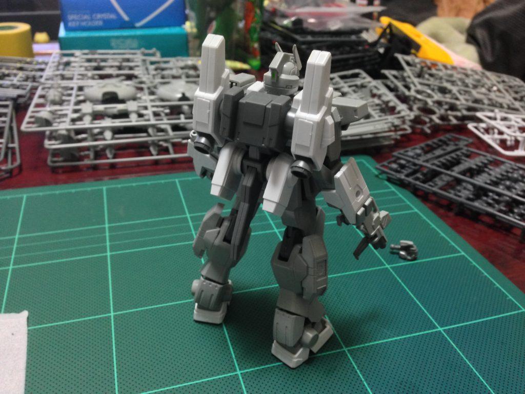 HGBF 1/144 RX-79[G]Ez-SR1 ガンダムEz-SR 背面