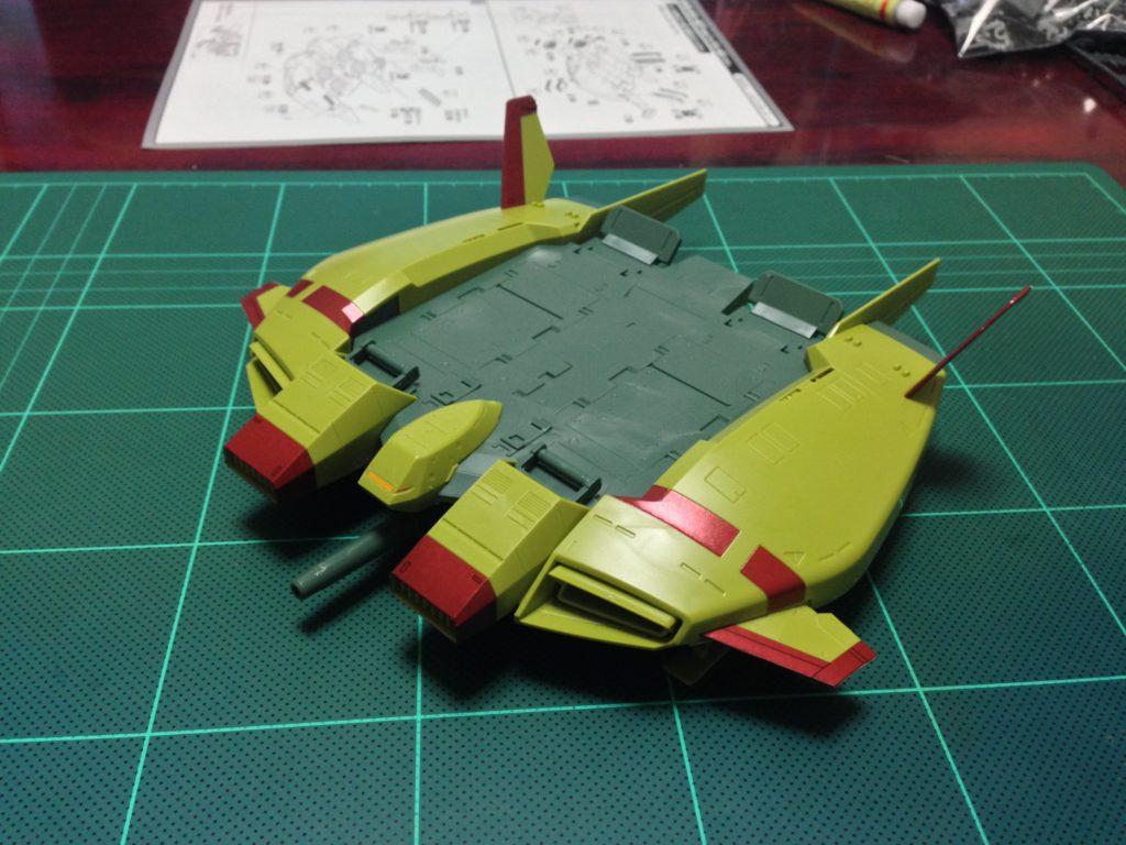 HGUC 1/144 ベースジャバー(ユニコーン ジオン軍残党カラーVer.) 正面
