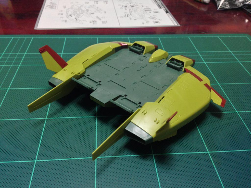 HGUC 1/144 ベースジャバー(ユニコーン ジオン軍残党カラーVer.) 背面