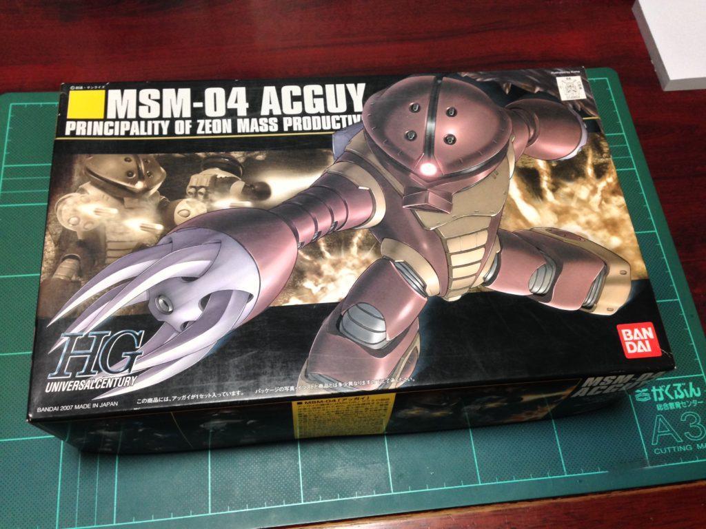 HGUC 1/144 MSM-04 アッガイ パッケージ