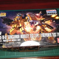 HG 1/144 RCX-76-01 ガンキャノン 機動試験型/火力試験型 [GUNCANNON MOBILITY TEST TYPE / FIREPOWER TEST TYPE]