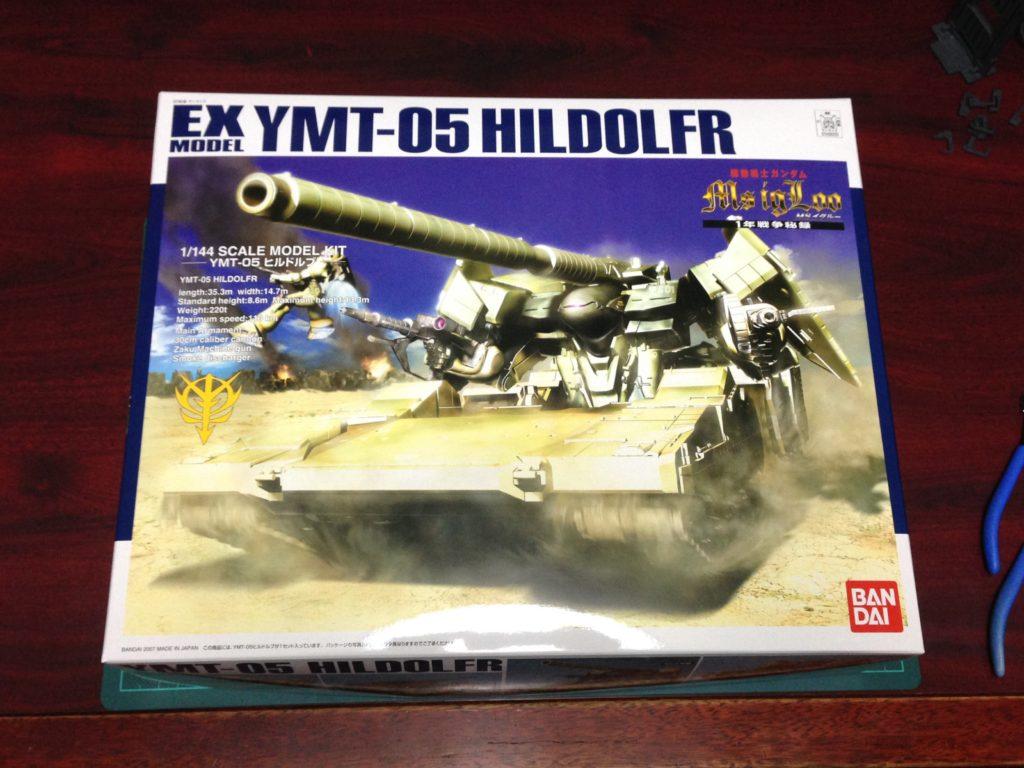 EX 1/144 YMT-05 ヒルドルブ [HILDOLFR] パッケージ