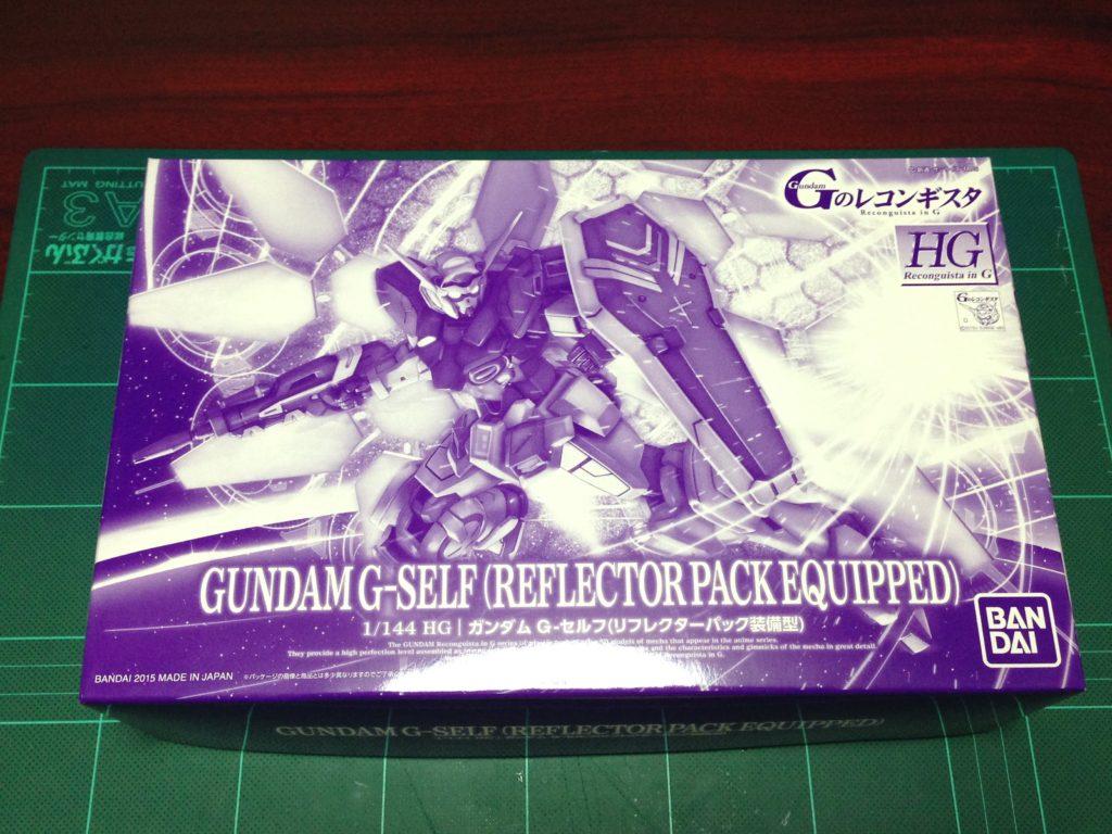 HG 1/144 Gセルフ(リフレクターパック装備型) パッケージ