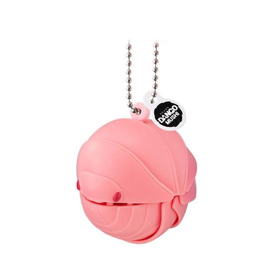 バンダイ 生き物カプセル だんごむし まるまるスイング ピンクのだんごむし