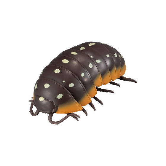 バンダイ 生き物カプセル だんごむし05 だんごむしとだいおうぐそくむし モンテネグロダンゴムシ