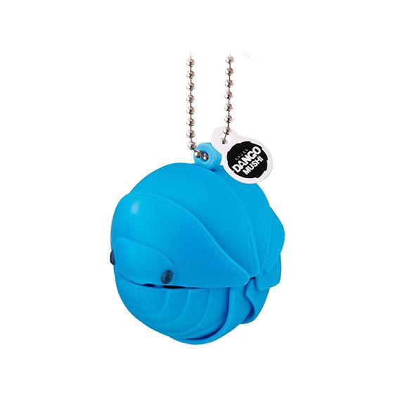 バンダイ 生き物カプセル 【mini】だんごむし まるまるスイング プチ 水色のだんごむし