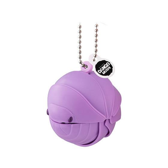 バンダイ 生き物カプセル 【mini】だんごむし まるまるスイング プチ 紫のだんごむし